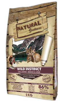 Natural Greatness Wild Instinct Recipe M/L 6kg
