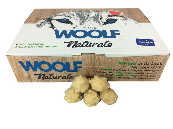 Woolf Naturals XS Natural Ball Beef & Lung (~900g)