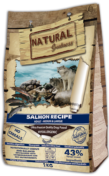 Natural Greatness Salmon Recipe Medium & Large NG 2 kg