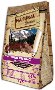 Natural Greatness Wild Instinct Recipe 2kg