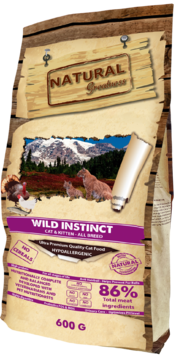 Natural Greatness Wild Instinct Recipe 600g