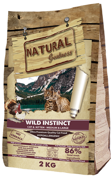 Natural Greatness Wild Instinct Recipe M/L 2kg